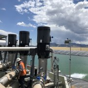 PLS Pumping Station and PLS Pond August 22 2019